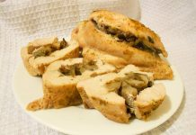 куриная грудка фаршированная грибами - пошаговый рецепт
