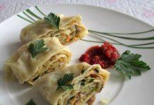 ханум с мясом - пошаговый рецепт