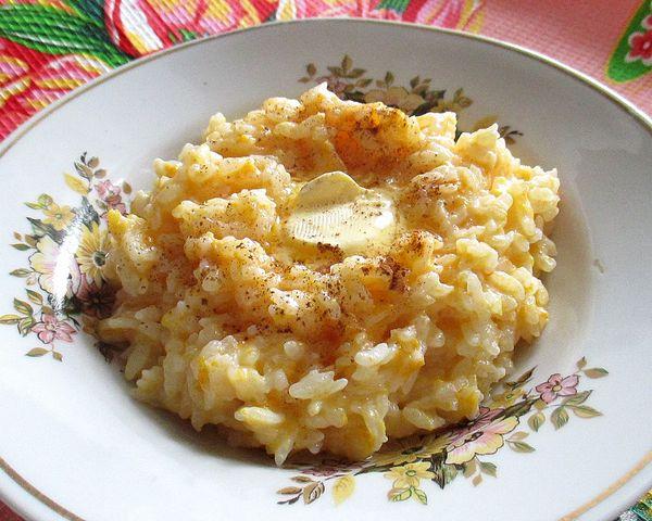 рисовая каша с тыквой на молоке - пошаговый рецепт