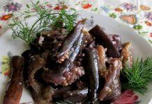 маринованные баклажаны - пошаговый рецепт
