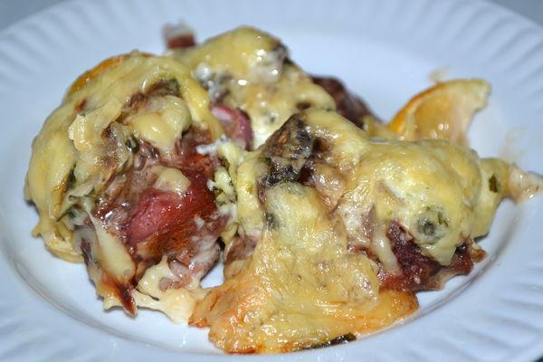 мясо по-французски из свинины с грибами - пошаговый рецепт