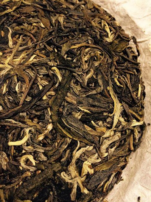 Чай пуэр россыпью
