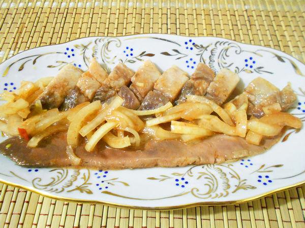 селедка по-корейски - пошаговый рецепт