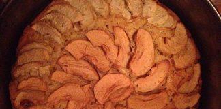 бездрожжевой яблочный пирог шарлотка - пошаговый рецепт