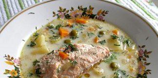 Суп из красной рыбы в мультиварке - пошаговый рецепт