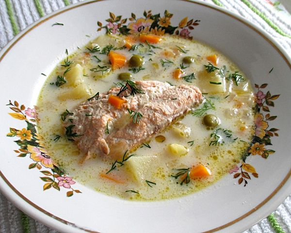 сварить суп из рыбы рецепт