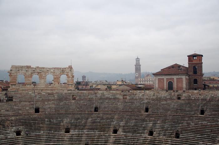 Древнеримский амфитеатр