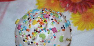 Глазурь для кулича - пошаговый рецепт