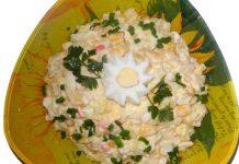 Крабовый салат - пошаговый рецепт