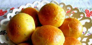 Морковные булочки с тмином - пошаговый рецепт