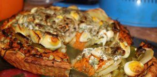 овощной пирог - пошаговый рецепт