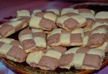 шахматное печенье - пошаговый рецепт