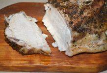 Запеченная свиная корейка по-домашнему - пошаговый рецепт