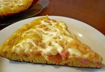 заливная пицца - пошаговый рецепт