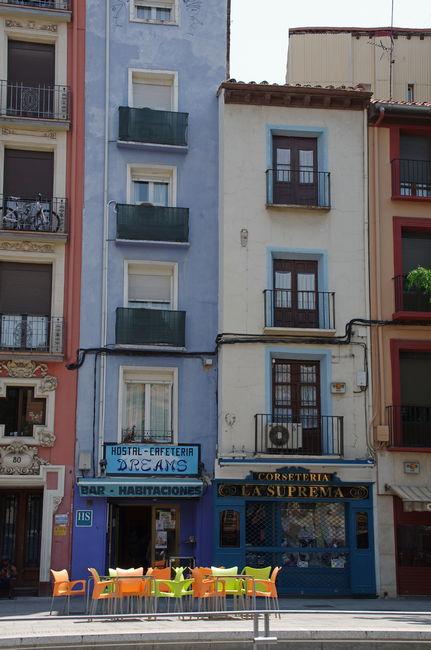 Дома в одно окно, Сарагоса
