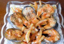 скумбрия по-корейски - пошаговый рецепт