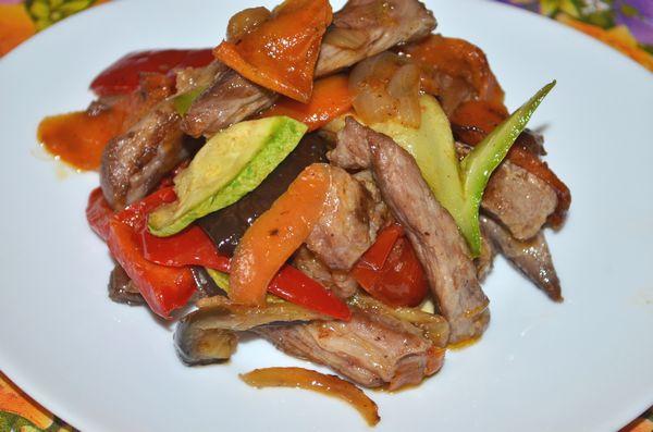 свинина с овощами по-китайски - пошаговый рецепт