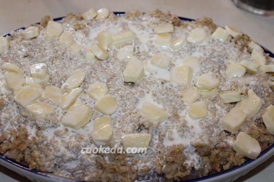 Запеканка из индейки с овощами в духовке