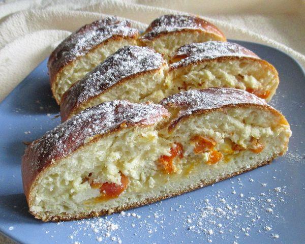 дрожжевой пирог на кефире - пошаговый рецепт