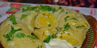 Ханум с картошкой - пошаговый рецепт