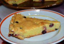 пирог с черной смородиной - пошаговый рецепт