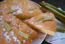 Пирог с ревенем - пошаговый рецепт