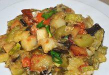Рецепт рагу с овощами и картошкой - пошаговый рецепт