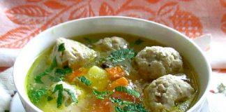 суп с рыбными фрикадельками - пошаговый рецепт