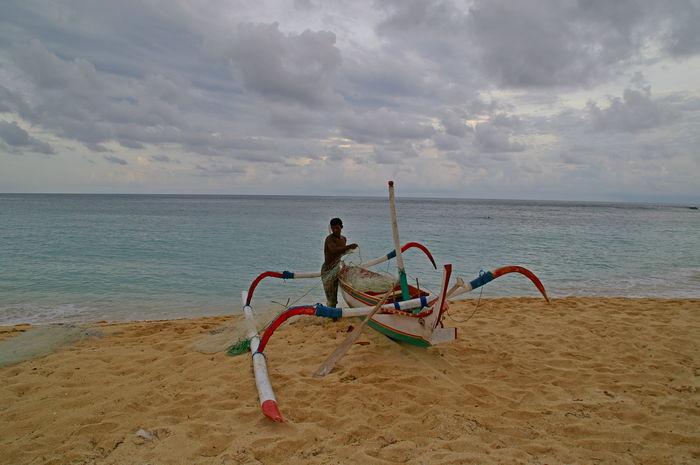 Рыбак, Бали