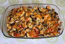 запеканка из баклажан с сыром - пошаговый рецепт