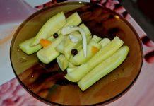 маринованные кабачки на закуску - пошаговый рецепт