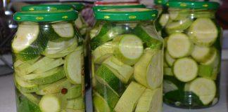 Консервированные кабачки на зиму - пошаговый рецепт