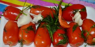 Малосольные помидоры - пошаговый рецепт