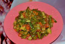 Рагу из стручковой фасоли - пошаговый рецепт