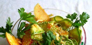 салат из свежих кабачков - пошаговый рецепт