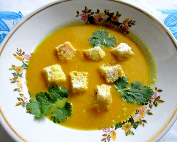 Тыквенный суп-пюре - пошаговый рецепт