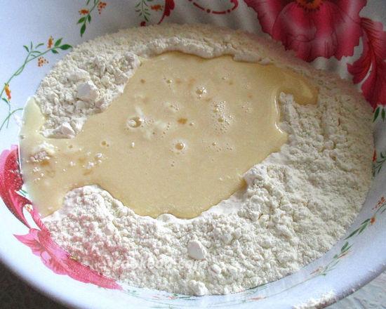 Как сделать тесто для вареников с молоком