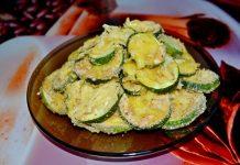 кабачки в панировочных сухарях - пошаговый рецепт
