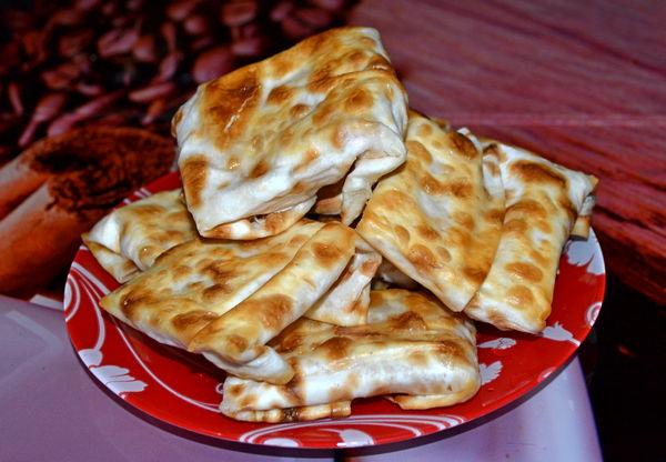 быстрые быстрые слойки с яблоками - пошаговый рецепт