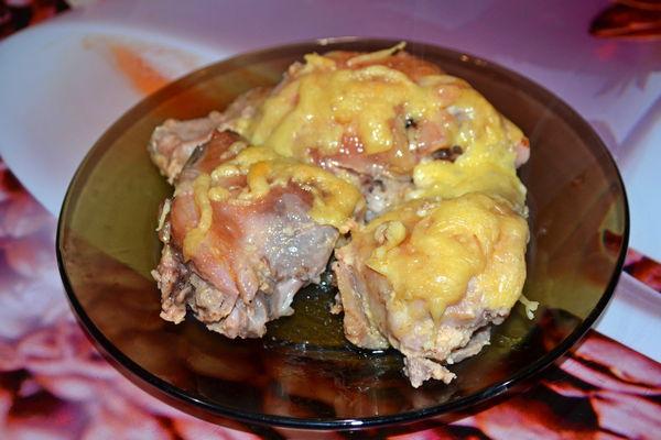Куриные бедра в духовке - пошаговый рецепт