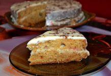 Бисквитный торт со сметанным кремом - пошаговый рецепт
