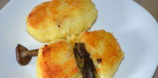 зразы картофельные с грибами - пошаговый рецепт с фото