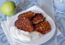 Оладушки из яблок - пошаговый рецепт