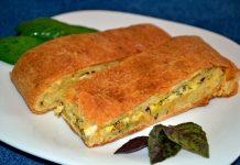 пирог с брынзой и зеленью - пошаговый рецепт