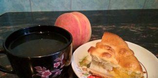 Пирог с персиками - пошаговый рецепт