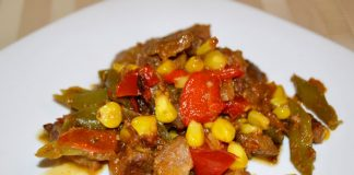 Свинина с овощами в мультиварке - пошаговый рецепт
