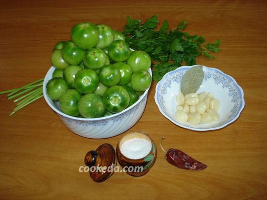 простой рецепт засолки помидор с чесноком