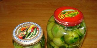 зеленые помидоры на зиму - пошаговый рецепт