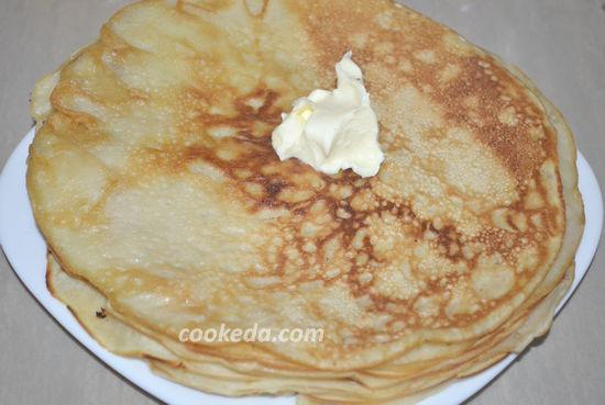 Готовим блины на молоке - 4 рецепта
