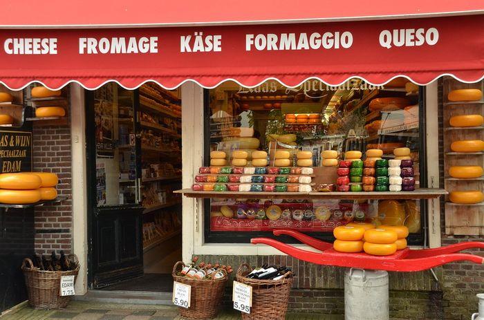 Магазин сыра. Нидерланды